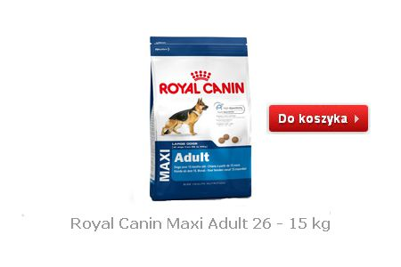 Karma dla psów dorosłych Royal Canin Maxi Adult 26