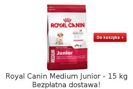 Dobra karma dla młodych psów Medium Junior