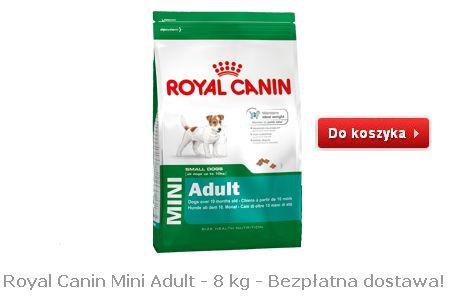 Karma dla dorosłych małych psów Mini Adult